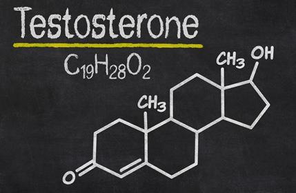 formule testosterone tableau noir